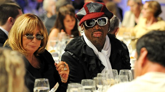Penny Marshall talks book, Rodman film