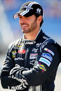 Jimmie Johnson of NASCAR's Sprint Cup Series