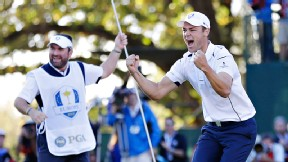 The Europeans tied the greatest Ryder Cup comeback with a 14½-13½ victory, which was sealed by Martin Kaymer's 6-foot putt.