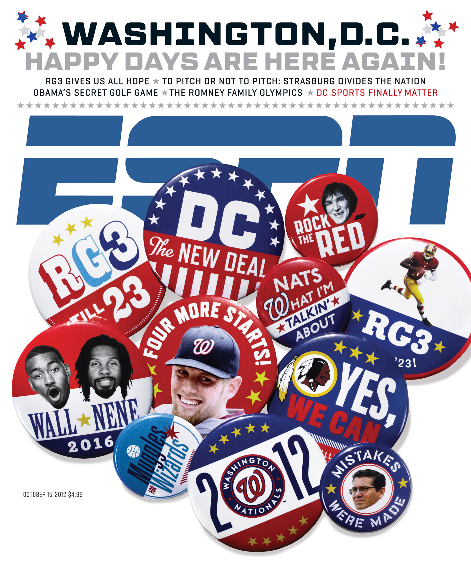 ESPN The Magazine's Washington, D.C. Issue