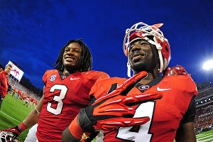 Todd Gurley #3 and Keith Marshall