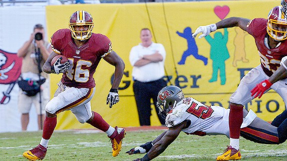 While RGIII gets most of the love, Redskins running back Alfred Morris is quietly having a solid rookie season.