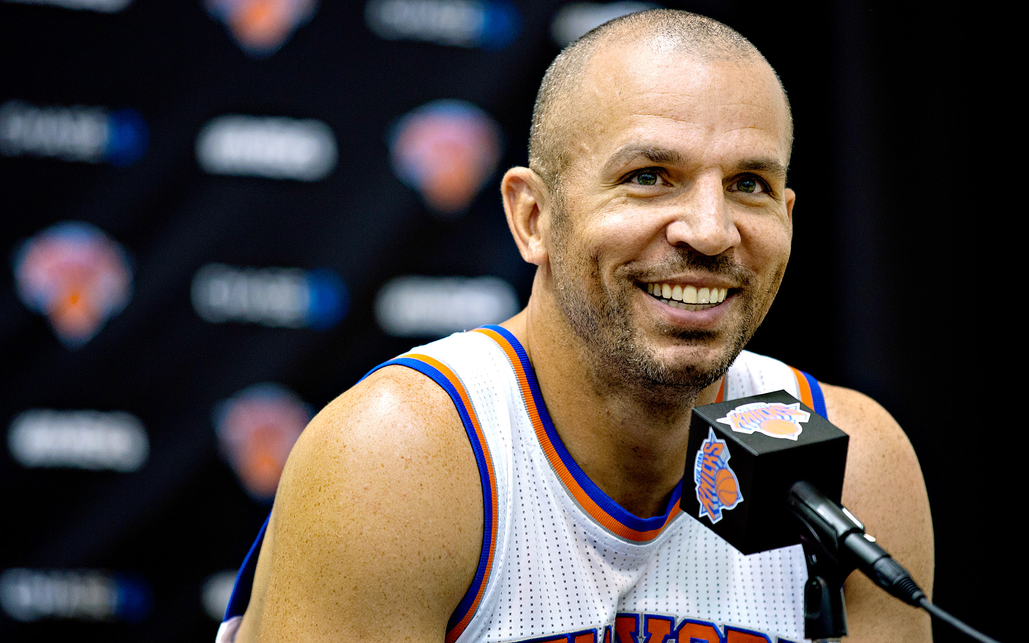 Jason Kidd Jason Kidd New York Knicks Media Day ESPN