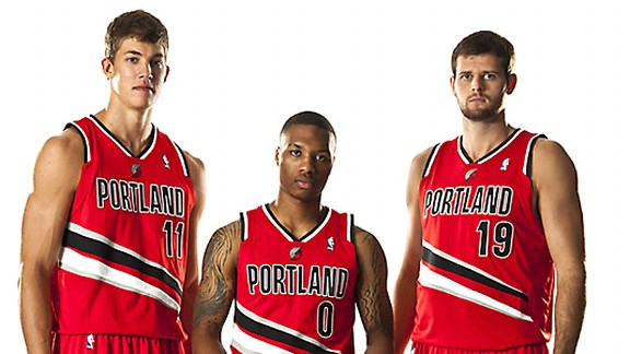 Portland Trail Blazers alternate uniforms