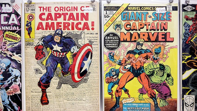 Vintage Marvel comics