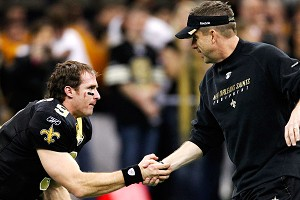 Drew Brees and Sean Payton