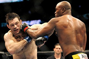 Anderson Silva and Forrest Griffin