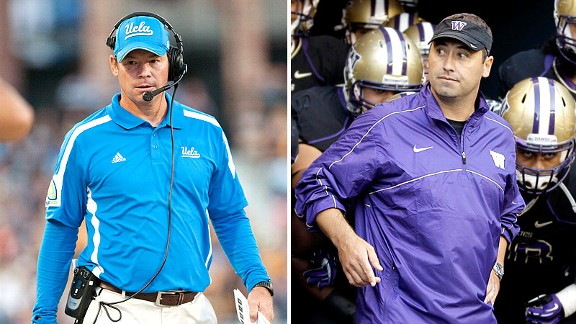 Jim Mora, Steve Sarkisian