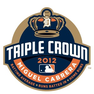 Miguel Cabrera Triple Crown logo