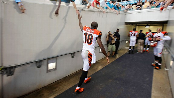 A.J. Green soaring above all NFL receivers