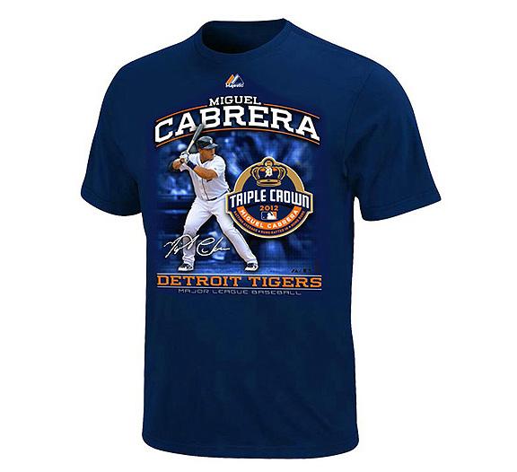 Majestic Miguel Cabrera T-shirt