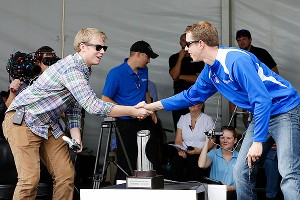 Brad Keselowski and Josh Bralley
