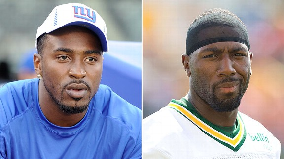 Hakeem Nicks and Greg Jennings