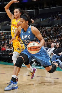 Maya Moore and Kristi Toliver