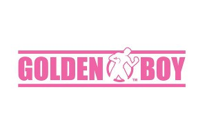 Golden Boy's pink logo for breast cancer awareness