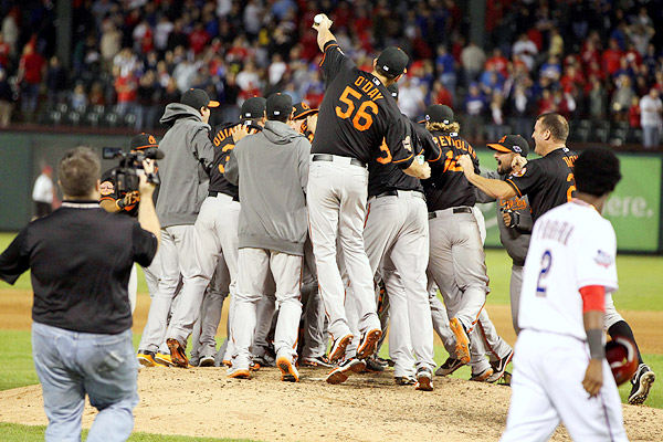 Baltimore Orioles celebration