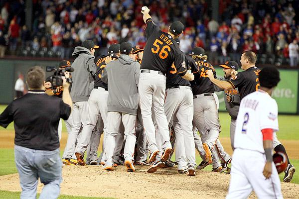 Baltimore Orioles celebration