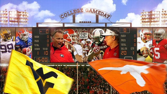 College Gameday illustration week 6