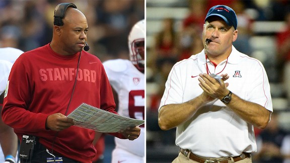 David Shaw and Rich Rodriguez