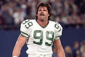 Mark Gastineau of the New York Jets