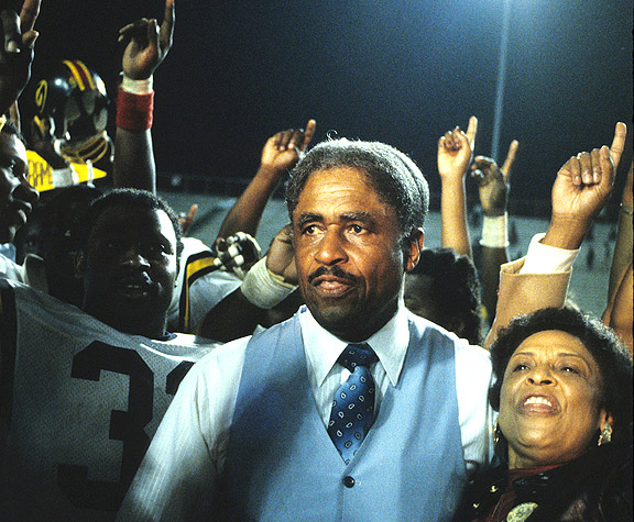 Eddie Robinson celebrating his 300th win in 1982