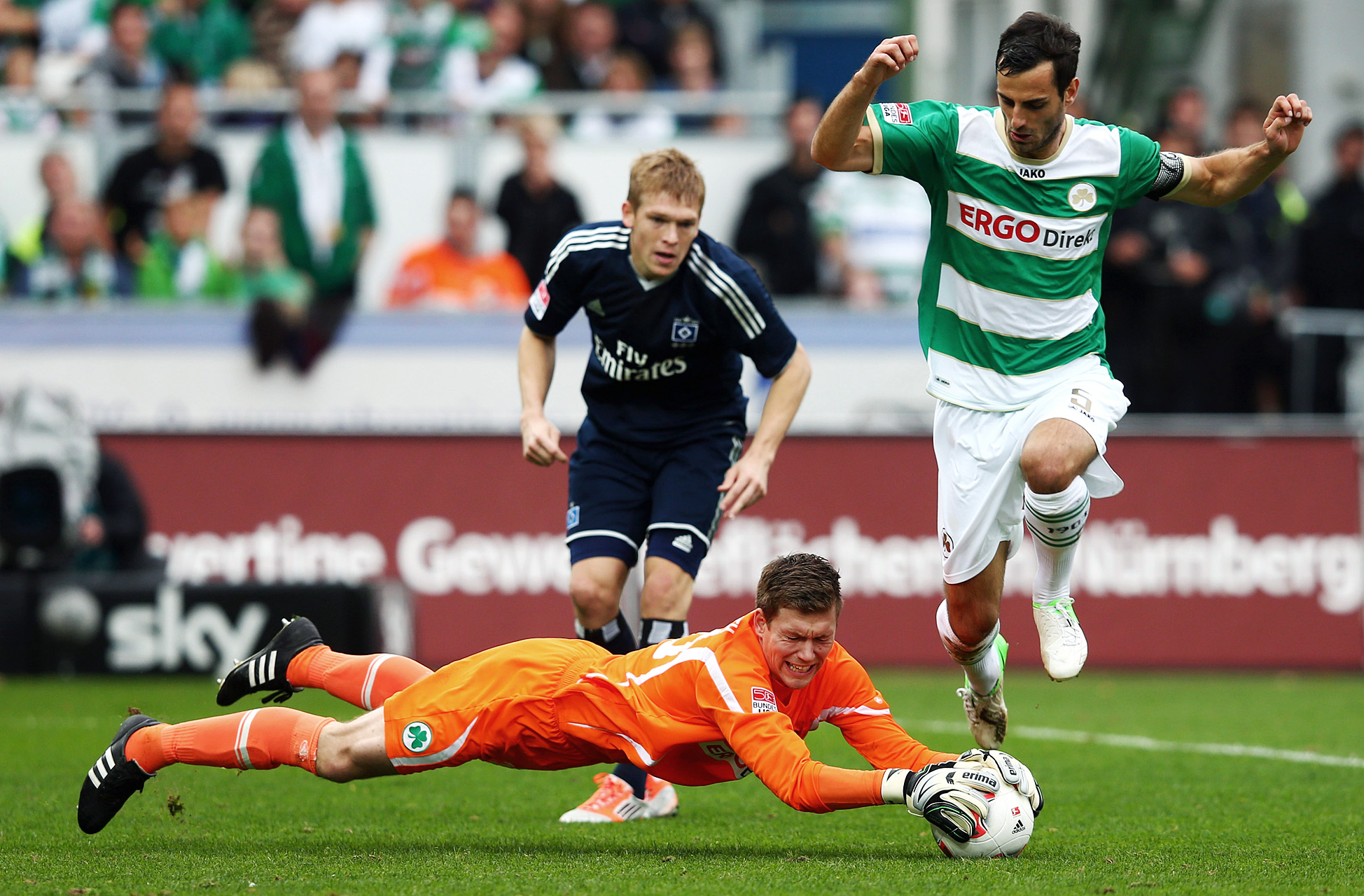 SpVgg Greuther Fuerth and Hamburger SV