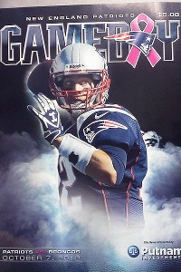 Patriots Gameday Cover