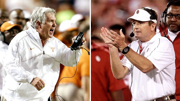 Mack Brown, Bob Stoops