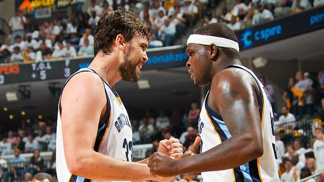 Marc Gasol and Zach Randolph