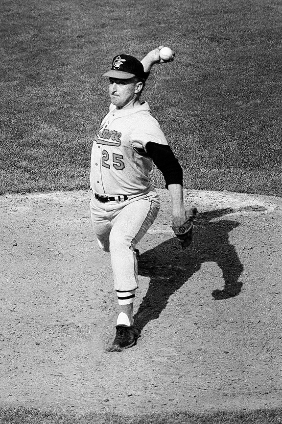 Moe Drabowsky in the 1966 World Series