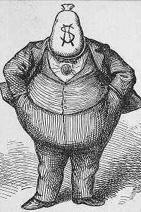 Tammany Hall Cartoon