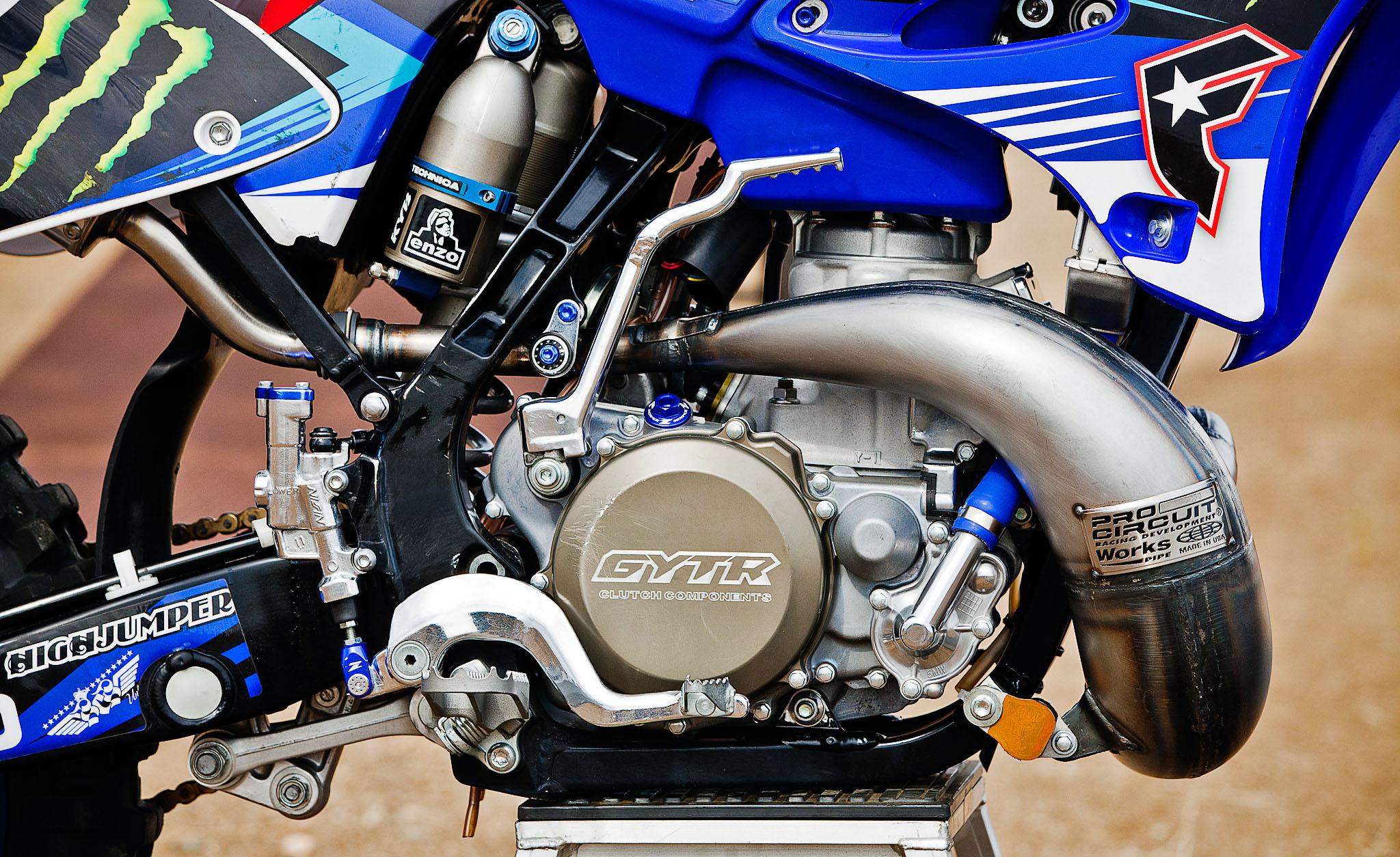 Taka Higashino's Yamaha YZ 250