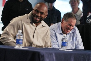Kevin Faulk, Bill Belichick