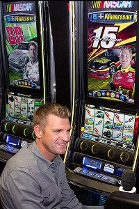 Clint Bowyer and NASCAR slot machine