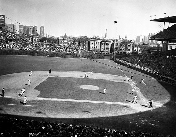 1945 Chicago Cubs against the Tigers during the World Series