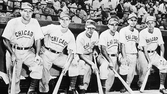 1945 Chicago Cubs during the World Series