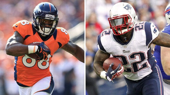 Demaryius Thomas, Stevan Ridley