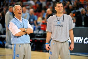 Roy Williams and C.B. McGrath