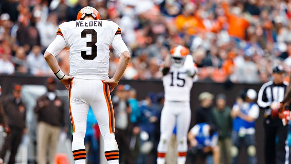 Only a quarterback can change Browns' fate