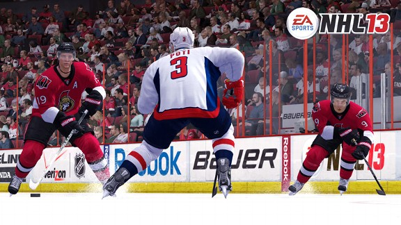 NHL 13, Washington vs. Ottawa