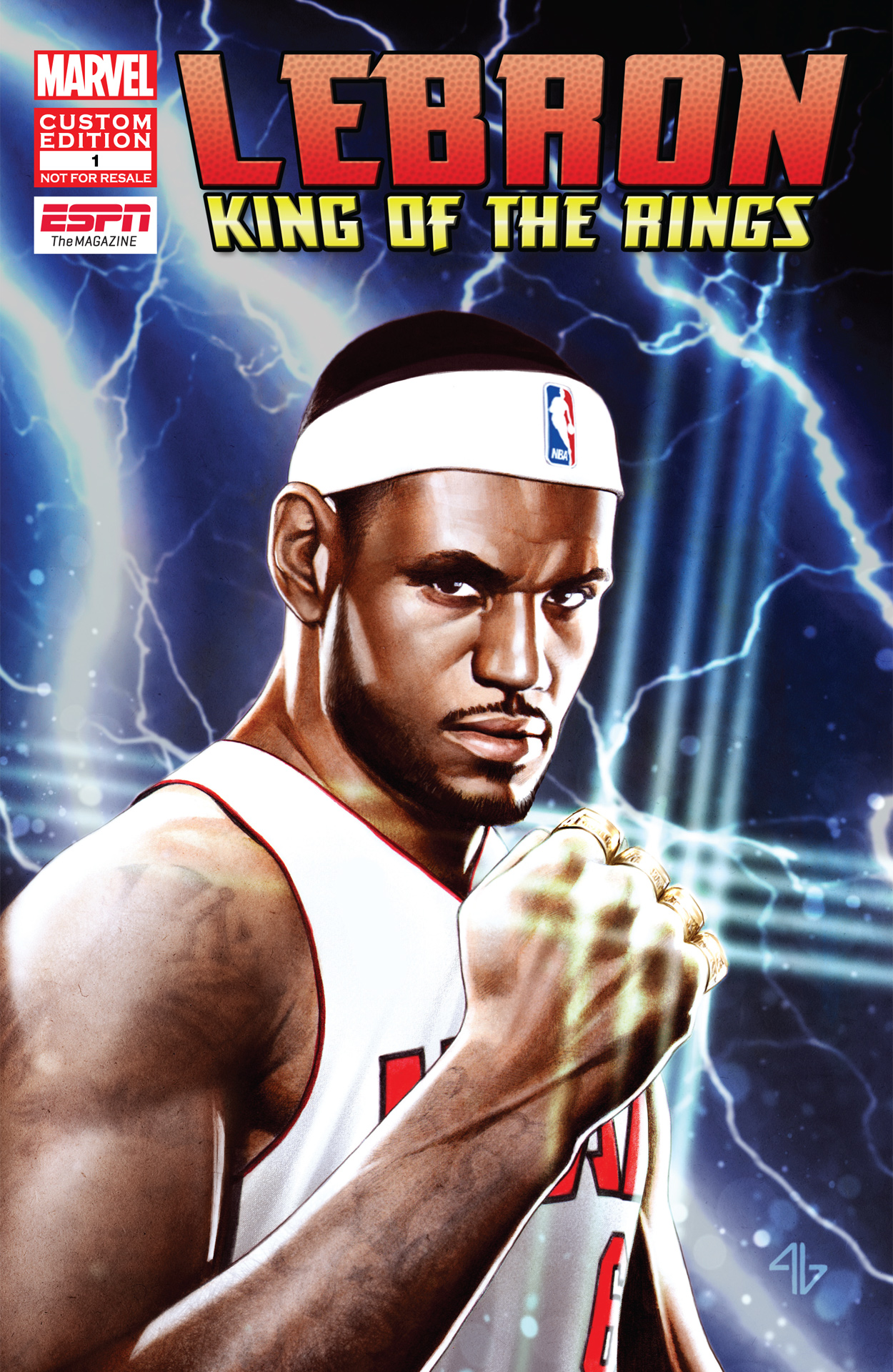 4d66b0ca550 LeBron  King of the Rings - ESPN The Magazine and Marvel present LeBron   King of the Rings - ESPN