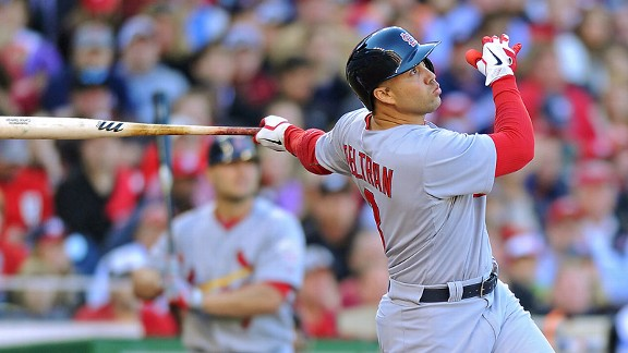 Carlos Beltran has made Cardinals fans ponder the question: Pujols who? The veteran slugger put up a .444 batting average with two home runs and four RBIs in the NLDS alone.