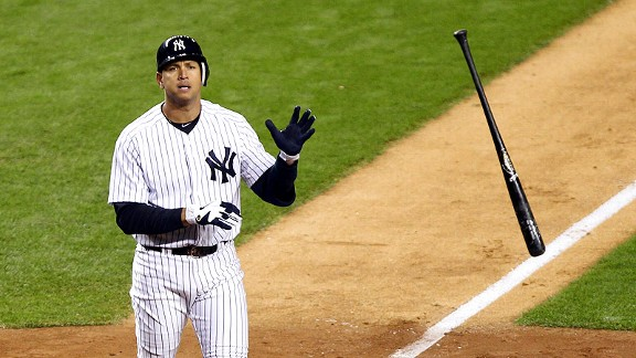 This year's ALDS hasn't been easy for Alex Rodriguez. But is he done?