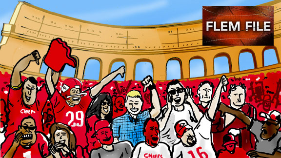 Chiefs Fans booing illustration