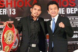 Nonito Donaire and Toshiaki Nishioka