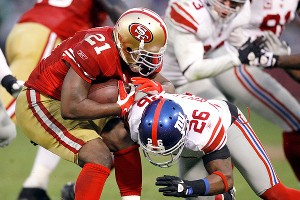 Frank Gore and Antrel Rolle