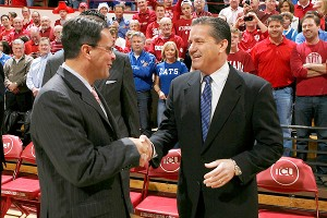 John Calipari and Tom Crean