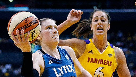Lynx guard Lindsay Whalen is counting on the fans' support to help bring another title to Minnesota.