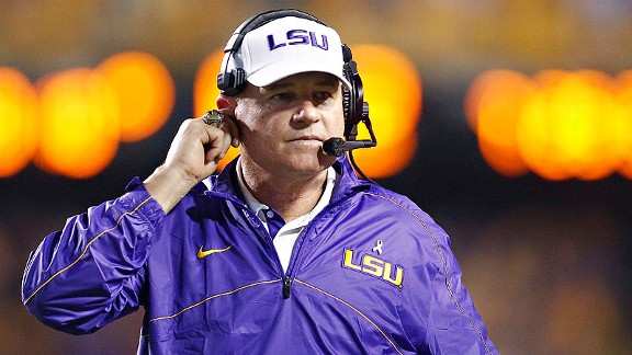Les Miles' LSU Tigers got a huge win over South Carolina on Saturday night.