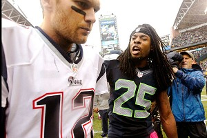 Tom Brady and Richard Sherman